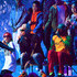 Pharrell Williams Chad Hugo Photos - Pharrell Williams, Shay Haley and Chad Hugo perform with dancers  onstage at Nickelodeon's 2018 Kids' Choice Awards at The Forum on March 24, 2018 in Inglewood, California. - Nickelodeon's 2018 Kids' Choice Awards - Show
