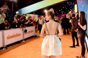 Kiernan Shipka attends Nickelodeon's 2019 Kids' Choice Awards at Galen Center on March 23, 2019 in Los Angeles, California.
