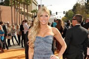 Wrestler Kelly Kelly arrives at Nickelodeon's 25th Annual Kids' Choice Awards held at Galen Center on March 31, 2012 in Los Angeles, California.