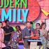 Jesse Tyler Ferguson Ariel Winter Photos - (L-R) Actress Kathrine Herzer, actor Chris Rock, Lola Simone Rock, actor Jesse Tyler Ferguson, actor Nolan Gould (obscured), actor Rico Rodriguez, actress Sarah Hyland and actress Ariel Winter speak onstage during Nickelodeon's 28th Annual Kids' Choice Awards held at The Forum on March 28, 2015 in Inglewood, California. - Nickelodeon's 28th Annual Kids' Choice Awards - Show