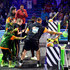 Michael Strahan David Dobrik Photos - Laurie Hernandez, P. K. Subban, David Dobrik, Rob Gronkowski, Trae Young, host Michael Strahan, Shaun White, Lindsey Vonn, and Kel Mitchell react after being slimed onstage during onstage during Nickelodeon Kids' Choice Sports 2019 at Barker Hangar on July 11, 2019 in Santa Monica, California. - Nickelodeon Kids' Choice Sports 2019