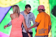 Nick Cannon and Stephen Curry Photos Photo