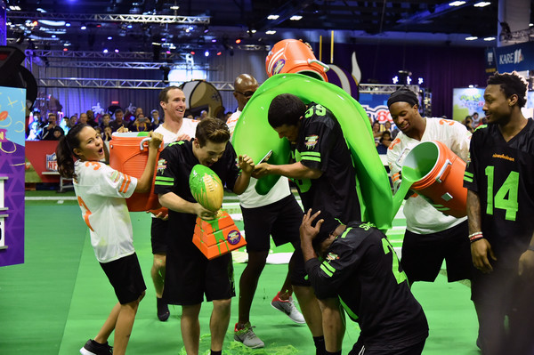 Nickelodeon at the Super Bowl Experience - Superstar Slime Showdown Taping