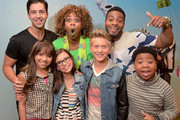 """(Top row L-R) Viner superstar Josh Peck, YouTube sensation GloZell, and from the cast of Nickelodeon's Game Shakers, Kel Mitchell, (bottom row L-R) Cree Cicchino, Madisyn Shipman, Thomas Kuc, and Benjamin """"Lil P-Nut"""" Flores Jr. at VidCon on July 25, 2015 in Anaheim, California. New live-action comedy series set to premiere Saturday, Sept. 12 at 8:30pm"""