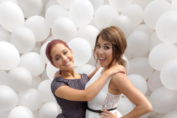 """Daniella Monet Ariana Grande Nickelodeon """"iParty With Victorious"""" Premiere - Inside"""