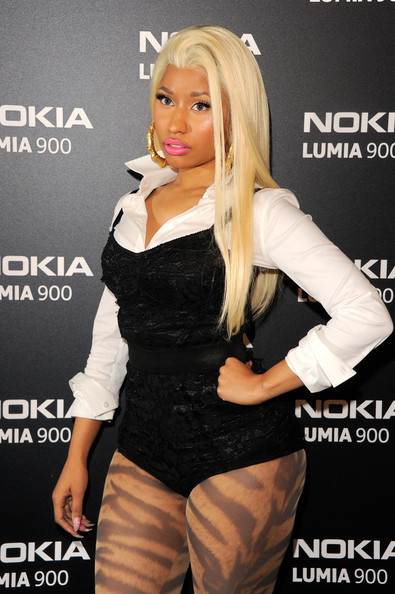 Nicki Minaj - Nokia Lumia 900 Launches In Times Square - Red Carpet