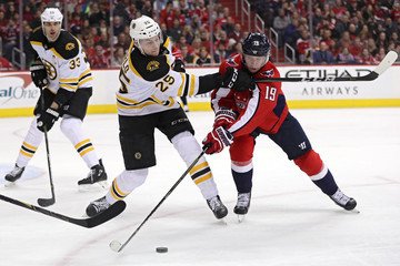 Nicklas Backstrom Boston Bruins v Washington Capitals