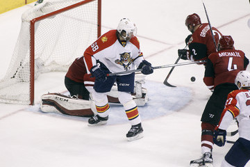 Nicklas Grossmann Florida Panthers v Arizona Coyotes
