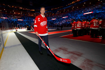 Nicklas Lidstrom New Jersey Devils v Detroit Red Wings