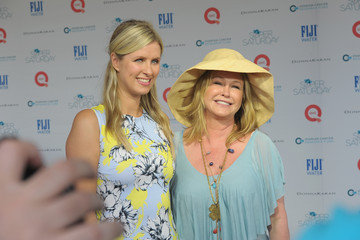 Nicky Hilton FIJI Water At Super Saturday Co-Hosted By Kelly Ripa And Donna Karan