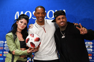 Nicky Jam Closing Ceremony Press Conference - 2018 FIFA World Cup Russia