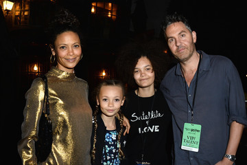 Nico Parker Thandiwe Newton Universal Studios Hollywood Hosts the Opening of 'The Wizarding World of Harry Potter' - Inside