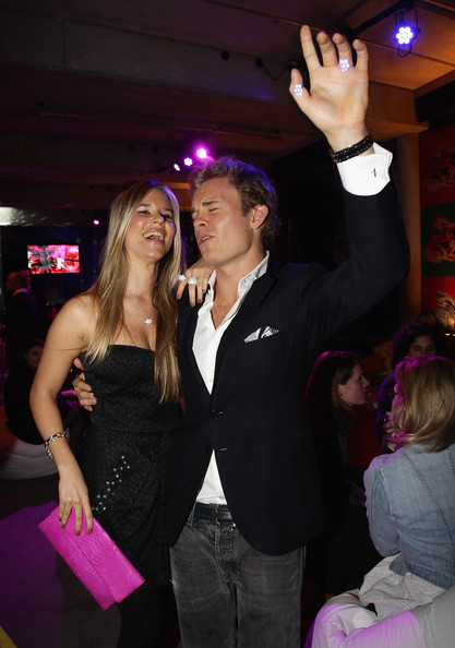 Nico Rosberg Formula 1 driver Nico Rosberg and partner Vivian Sibold attend the launch party for Thomas Sabo's Sterling Silver collection S/S 2011 at Soho House on December 2, 2010 in Berlin, Germany.