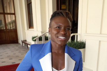 Nicola Adams Her Majesty Hosts The Final Queen's Young Leaders Awards Ceremony