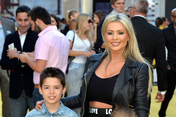 Nicola McLean Stars Appear on the 'Minions' World Premiere Red Carpet