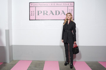 Nicola Peltz Prada Resort 2020 Fashion Show