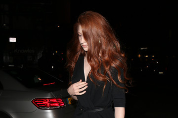 Nicola Roberts Celebrity Sightings at Sexy Fish