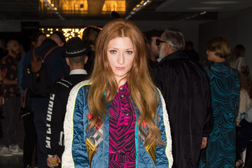 Nicola Roberts Day 2: Front Row - London Fashion Week SS15