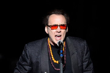 Nicolas Cage Opening Night of Guns N' Roses' in Vegas