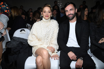 Nicolas Ghesquiere Jean-Paul Gaultier: Front Row - Paris Fashion Week - Haute Couture Spring Summer 2018