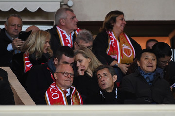 Nicolas Sarkozy AS Monaco v Paris Saint Germain - Ligue 1