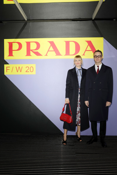 Prada Fall/Winter 2020/21 Menswear Fashion Show – Arrivals And Front Row