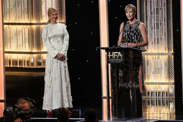 Nicole Kidman Charlize Theron 23rd Annual Hollywood Film Awards - Show