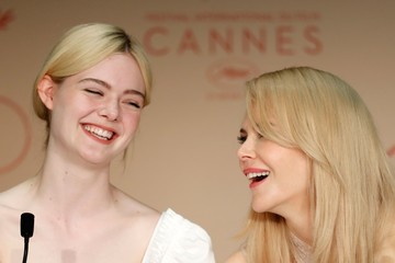 Nicole Kidman Elle Fanning 'The Beguiled' Press Conference - The 70th Annual Cannes Film Festival