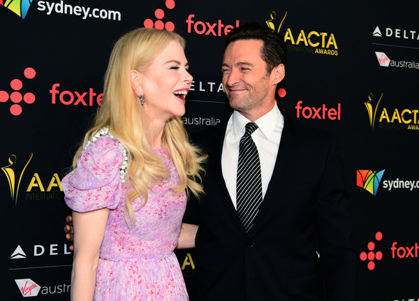 7th AACTA International Awards - Red Carpet [red carpet,event,premiere,carpet,media,flooring,nicole kidman,hugh jackman,avalon hollywood,california,los angeles,aacta international awards]