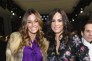 Kelly Killoren Bensimon and Veronica Webb attend the Nicole Miller front row during New York Fashion Week: The Shows at Gallery II at Spring Studios on February 7, 2019 in New York City.