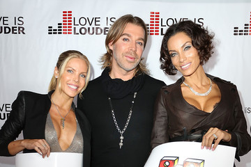 Nicole Murphy Chaz Dean Chaz Dean's Holiday Party Benefitting the Love is Louder Movement