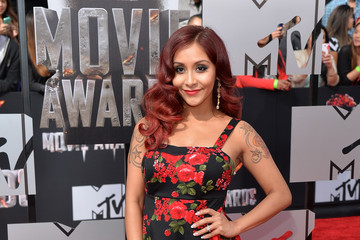 Nicole Polizzi Arrivals at the MTV Movie Awards — Part 2
