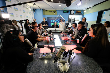 Nicole Polizzi Vinny Guadagnino Cast Of 'Jersey Shore Family Vacation' Visits 'The Elvis Duran Z100 Morning Show'
