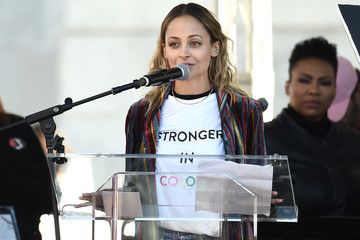 Nicole Richie 2018 Women's March Los Angeles