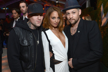 Nicole Richie Benji Madden 21st Annual Elton John AIDS Foundation Academy Awards Viewing Party - Inside