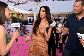 Nicole Scherzinger SiriusXM's 'Hits 1 in Hollywood' Broadcasts From the Red Carpet Leading Up to the Billboard Music Awards at the T-Mobile Arena