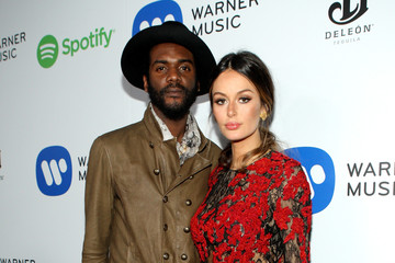 Nicole Trunfio Warner Music Group Grammy Celebration — Part 3