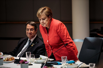 Nicos Anastasiades Political Leaders Attend The July 2018 EU Council Meeting - Day Two