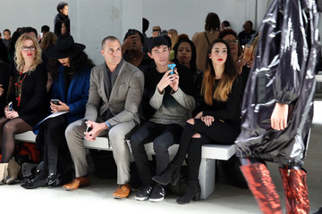 Nigel Barker Xuly Bet - Front Row - Fall 2016 New York Fashion Week: The Shows