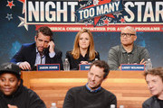 Jason Jones, Samantha Bee, and Larry Wilmore attend The Night Of Too Many Start Live Telethon on March 8, 2015 in New York City.
