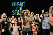Singer Loona of Netherlands attends the dance gala performance 'Night Of The Stars 2014' on September 6, 2014 in Aschaffenburg, Germany.