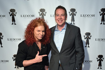 Nik Rytterstrom Carrot Top 10th Anniversary Celebration at The Luxor in Las Vegas