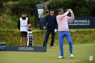 Nikesh Arora Alfred Dunhill Links Championship - Day Three