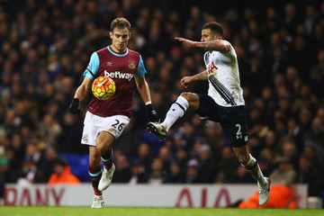 Nikica Jelavic Tottenham Hotspur v West Ham United - Premier League