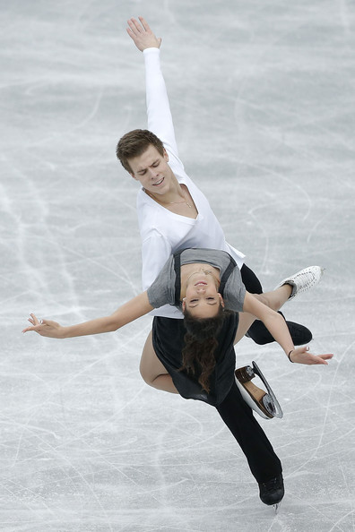 Nikita Katsalapov Elena Ilinykh and Nikita Katsalapov of Russia compete in the Ice Dance Free Dance during day two of the ISU Grand Prix of Figure Skating NHK Trophy at Sekisui Heim Super Arena on November 24, 2012 in Rifu, Japan.