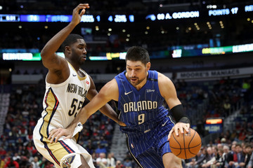 Nikola Vucevic Orlando Magic v New Orleans Pelicans
