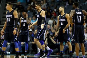 Nikola Vucevic Orlando Magic v Charlotte Hornets