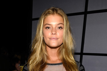 Nina Agdal Herve Leger By Max Azria - Front Row - Mercedes-Benz Fashion Week Spring 2015