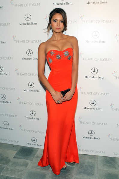 Nina Dobrev - The Art of Elysium's 7th Annual HEAVEN Gala Presented by Mercedes-Benz - Red Carpet