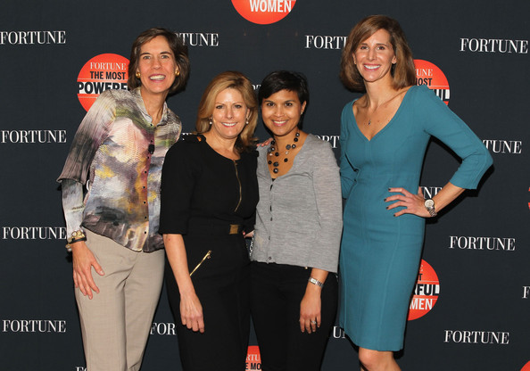 FORTUNE Most Powerful Women Summit: Day 3 [event,fashion,premiere,brand,style,stephanie mehta,nina easton,pattie sellers,leigh gallagher,l-r,washington dc,fortune most powerful women summit]